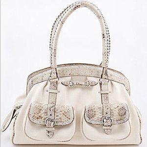 Dior Phython My Dior Pockets Satchel Bag